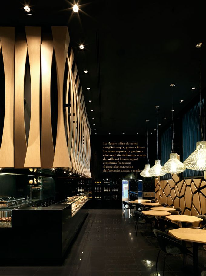VyTA Boulangerie Italiana in Turin by Daniela Colli Rome Hotel Interior Designs
