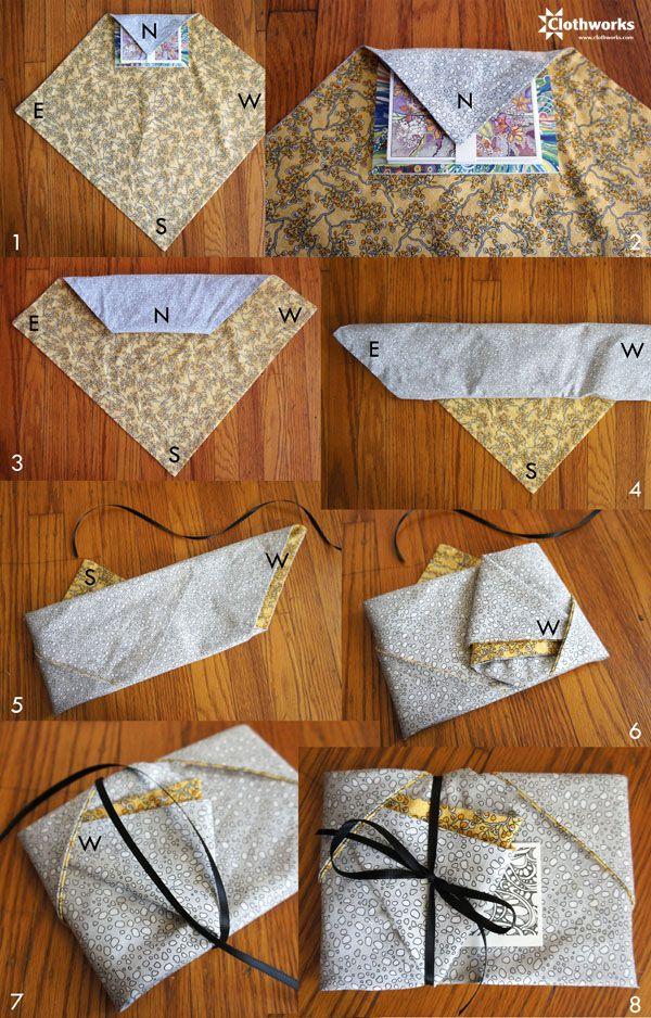 Furoshiki folding technique