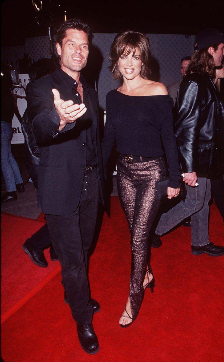 Pin for Later: Retour Sur la Fois où Ces Couples de Célébrités Se Sont Affichés en Public Pour la Première Fois Harry Hamlin et Lisa Rinna en 1997
