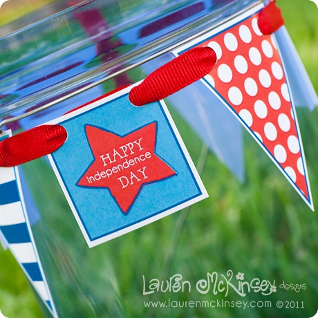 pennants around cupDesign Products, Teachers Gift, Buckets Lists, Cute Design, Red White, Americana Red