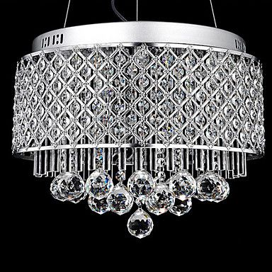 High Quality 40W Crystal Luxurious Pendant Light – LightSuperDeal.com