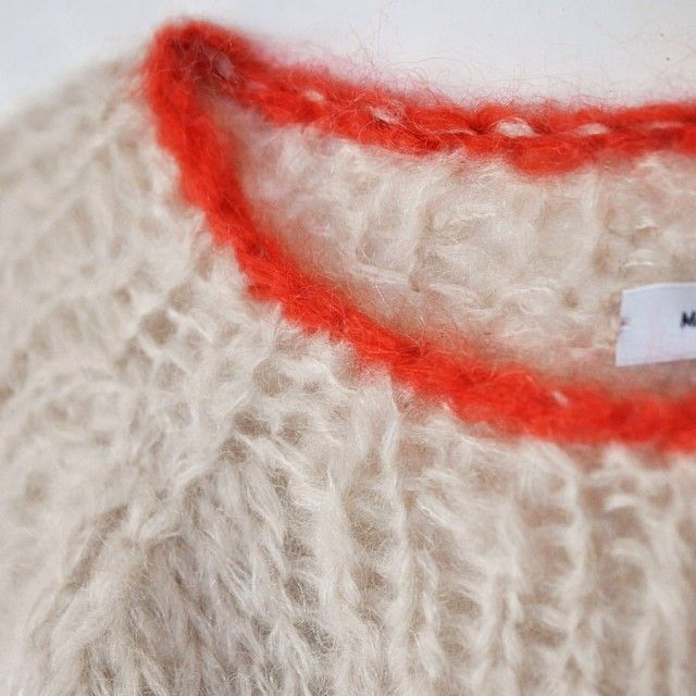 Handmade mohair sweaters by Miami