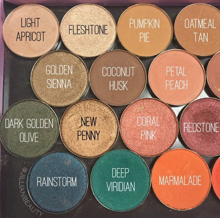 Coastal Scents Eyeshadows