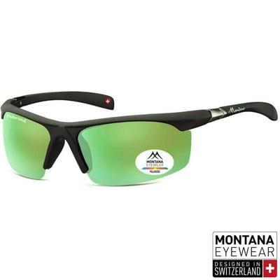 """Γυαλιά Ηλίου Biker Montana Polarized """"Curve"""" SP303-GREEN-e-chap"""