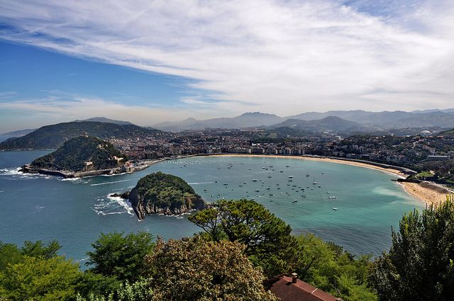 San Sebastian only 30 minutes from Biarritz
