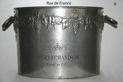 ANTIQUE - VINTAGE FRENCH MOET & CHANDON BIG CHAMPAGNE DOUBLE MAGNUM BUCKET