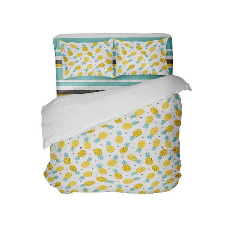 Hawaiian Pineapples Comforter Set from Kids Bedding Company