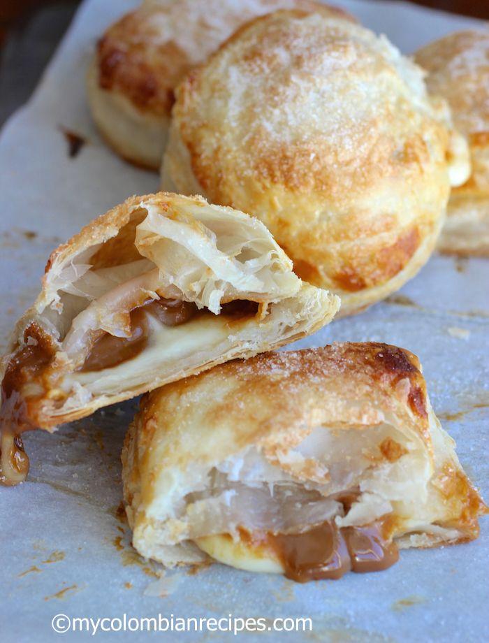 Pastel Gloria (Guava, Dulce de Leche and Cheese Pastry) |mycolombianrecipes.com