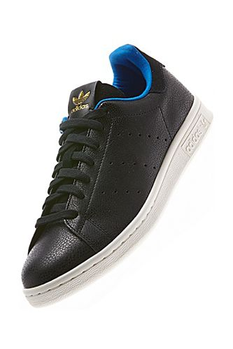 """Sleek, Old-School Kicks — There is nothing """"soccer mom"""" about this sweet pair of updated Stan Smiths. If you haven't worn this shoe since high school, it's time to revisit the classic style and revel in its chill, lo-fi ways.   adidas Stan Smith Shark Shoes, $120, available at adidas."""
