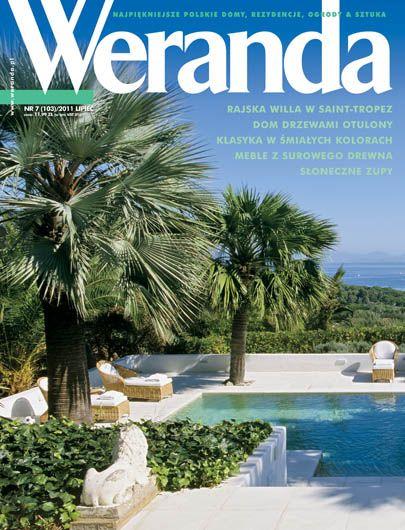Okładka magazynu Weranda 7/2011 www.weranda.pl