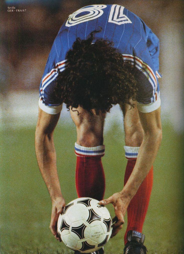 rocheteau seville 82 Coupe du monde, Souvenirs d