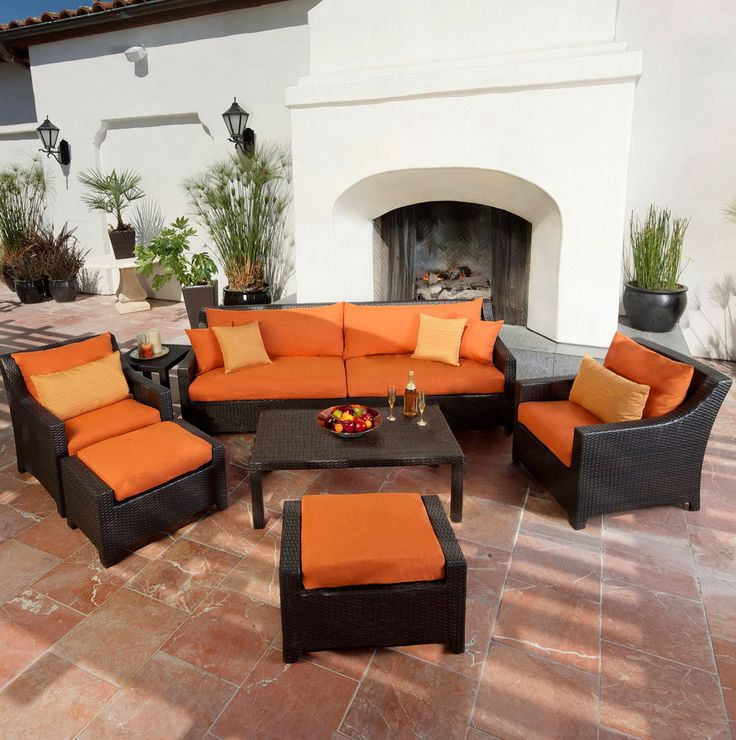 Orange Patio Chairs best 25+ patio furniture clearance ideas that you will like on