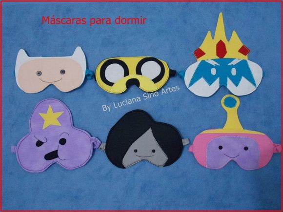 máscara para dormir Hora de aventura