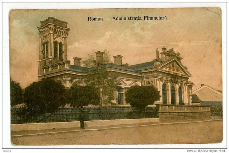 Roman - Administratia Financiara - antebelica
