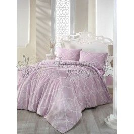Altinbasak Lamina lila - lenjerie de pat din bumbac ranforce 2 persoane