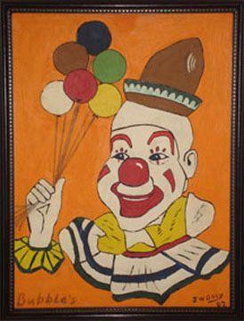 John Wayne Gacy Art | John Wayne Gacy Painting