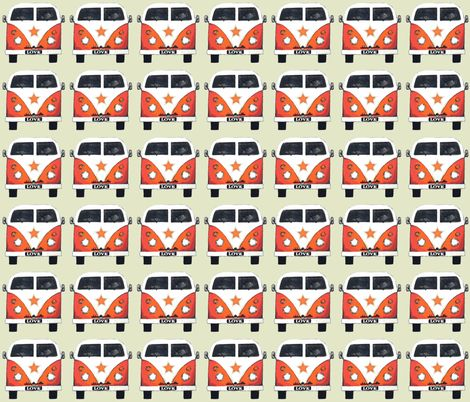 star camper fabric by scrummy for sale on Spoonflower - custom fabric, wallpaper and wall decals