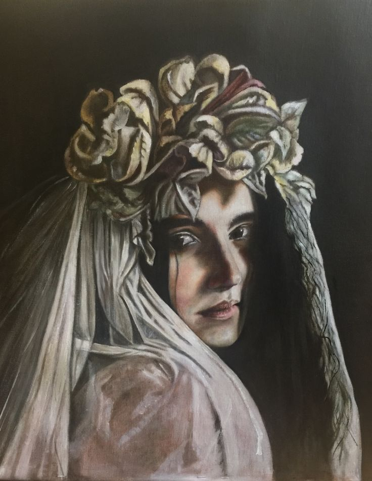 By Marie Lardino. Oil. Grisaille. Atelier Neo Medici. France