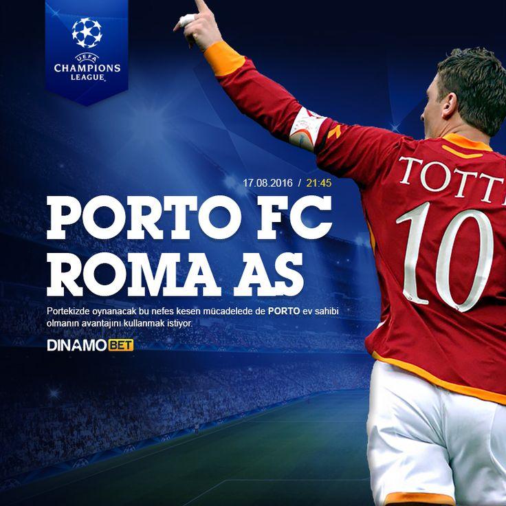 Şampiyonlar Ligi playoff turunun sonucu en çok merak edilen maçında Porto ile Roma karşılaşıyor!  EN YÜKSEK ORANLAR DİNAMOBET'TE... https://www.dinamobet4.com/tr/sports#/