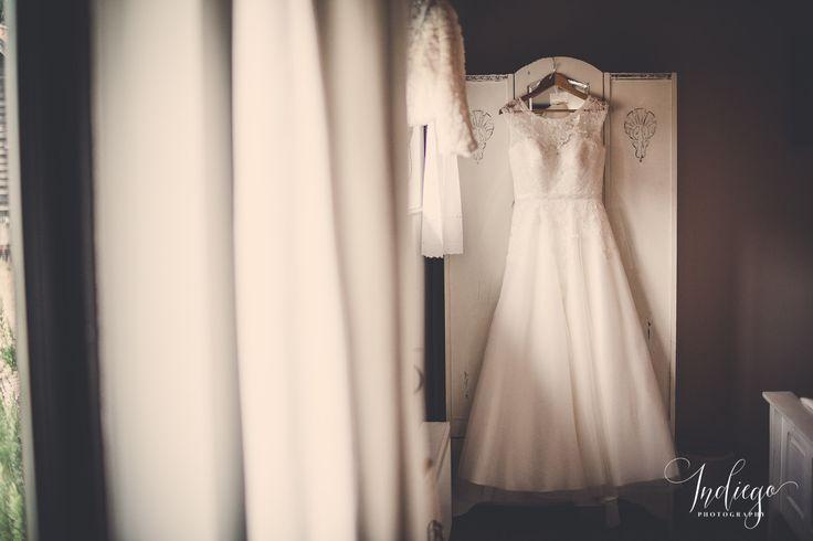Amy & Adam | Beautiful Barn Wedding at Creaksea Barns | Essex | Bride | Wedding Dress