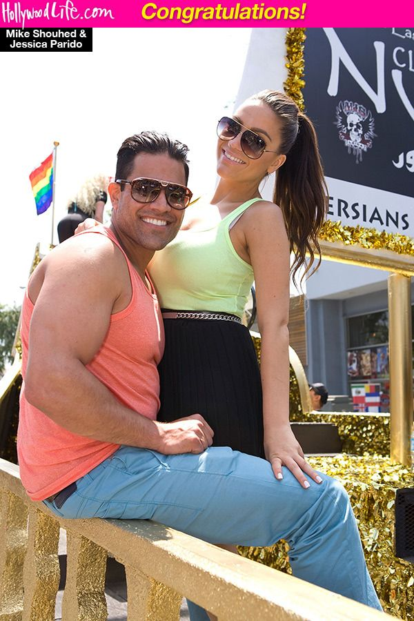 Jessica Parido Mike Shouhed Married
