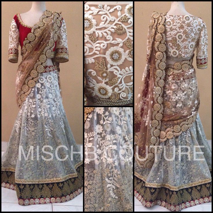 Lehenga Saree by MischB COuture