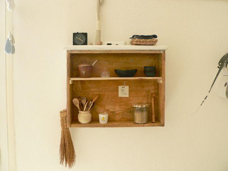 Transformer un tiroir en étagère