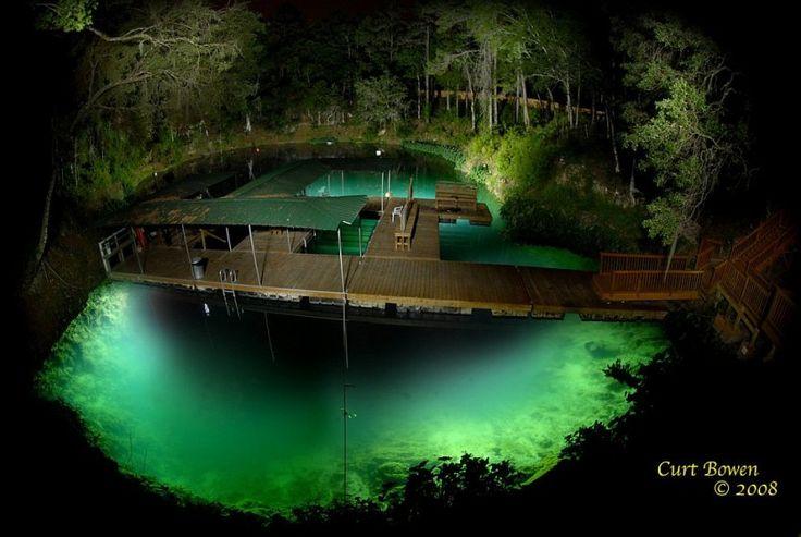 22 вечер Таинственные подводные пещеры