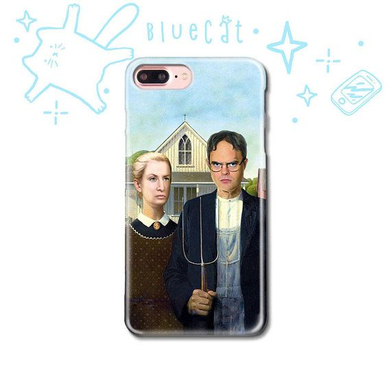 free shipping 6c37f 6adac The Office Tv Show Dwight iPhone X Case iPhone 7 8 6 5 5S SE ...