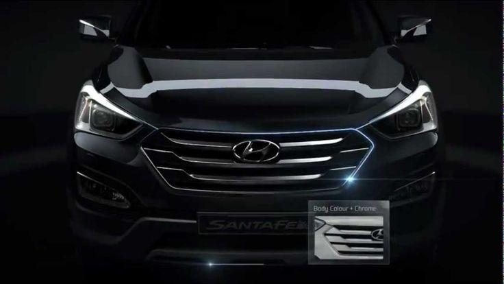Exteriorul noului Hyundai Santa Fe