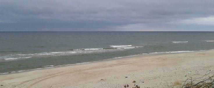 Baltic seaside in March