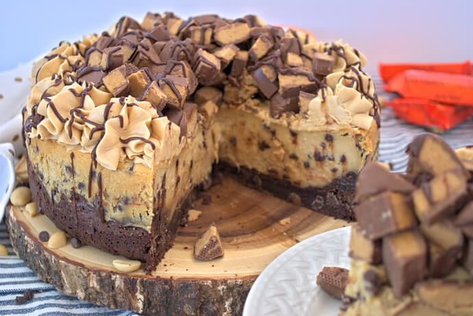 Ultimate Chocolate Peanut Butter Cheesecake