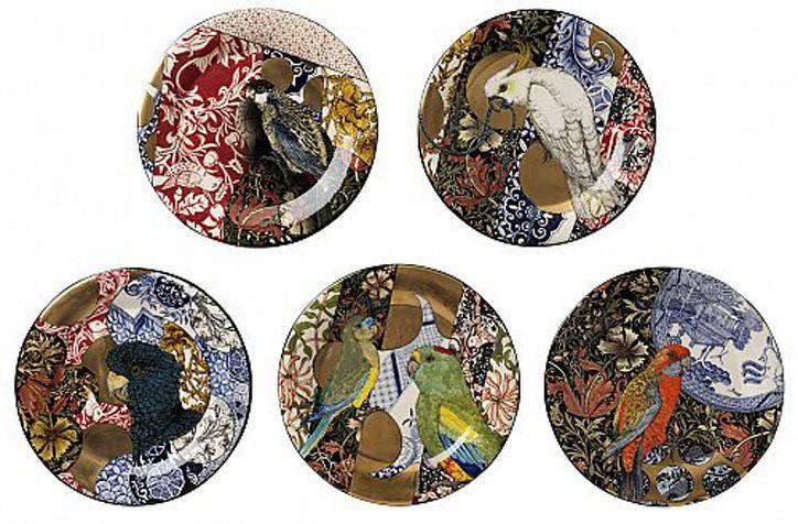 william morris camouflage plate | Stephen Bowers - Australian Bravura Original Ceramic Artist | The ...
