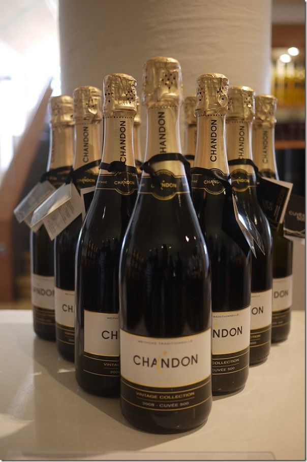 Chandon sparkling wine, Yarra Valley, Victoria, Australia