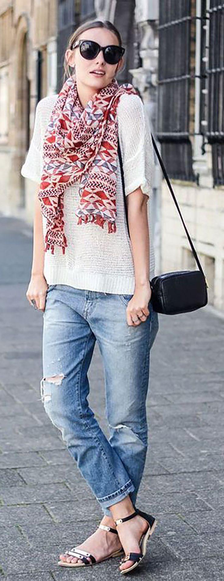 Looks Mom Jeans para o verão