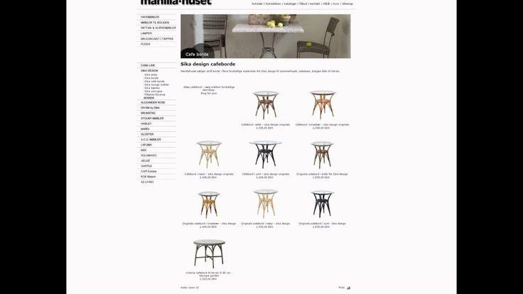 Sika Design Møbler forhandles af Manilla Huset i Egå