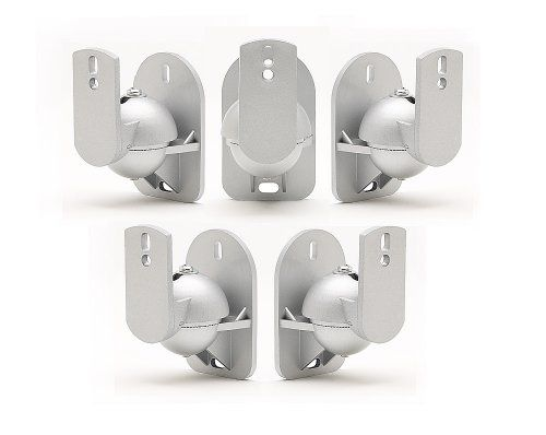 5 Pack of Silver Universal Speaker Wall Mount brackets has been published at http://www.discounted-home-cinema-tv-video.co.uk/5-pack-of-silver-universal-speaker-wall-mount-brackets/