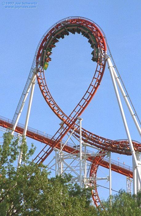 Viper, Six Flags Magic Mountain, CA   Roller Coasters I've ...