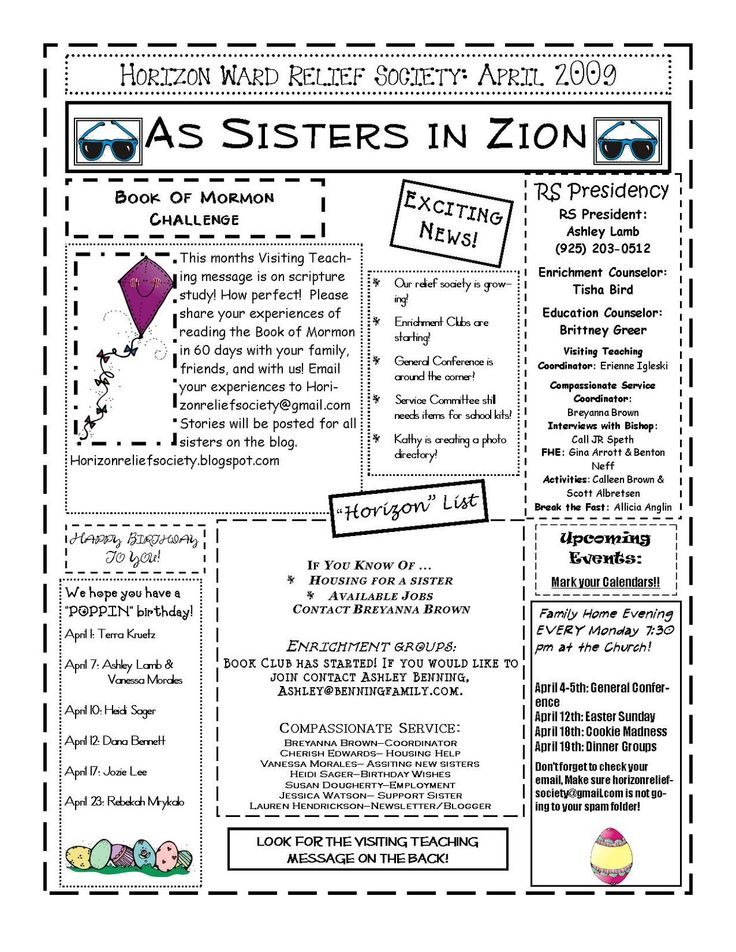 Brand-new 13 best LDS: RELIEF SOCIETY NEWSLETTER IDEAS images on Pinterest  JQ55
