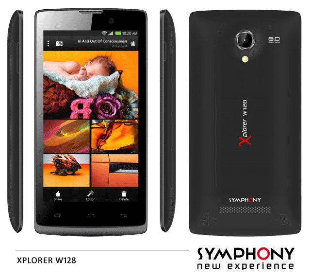 Symphony Xplorer W128 Price and Specs | Life in Bangladesh