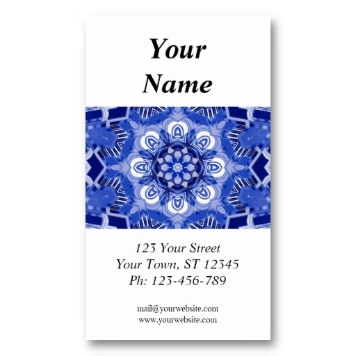 Kaleidoscope Business Card