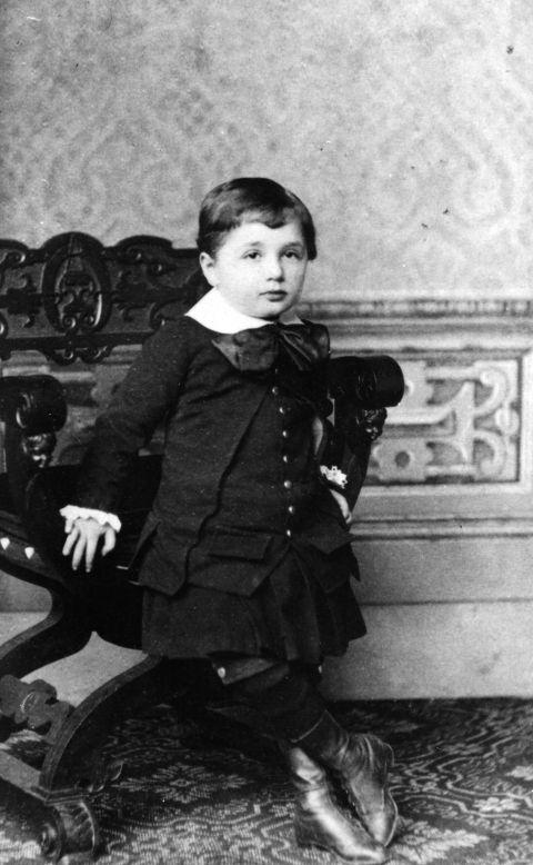 Earliest known photograph of Albert Einstein. Credit line: Hebrew University of Jerusalem Albert Einstein Archives, courtesy AIP Emilio Segre Visual Archives. Description: