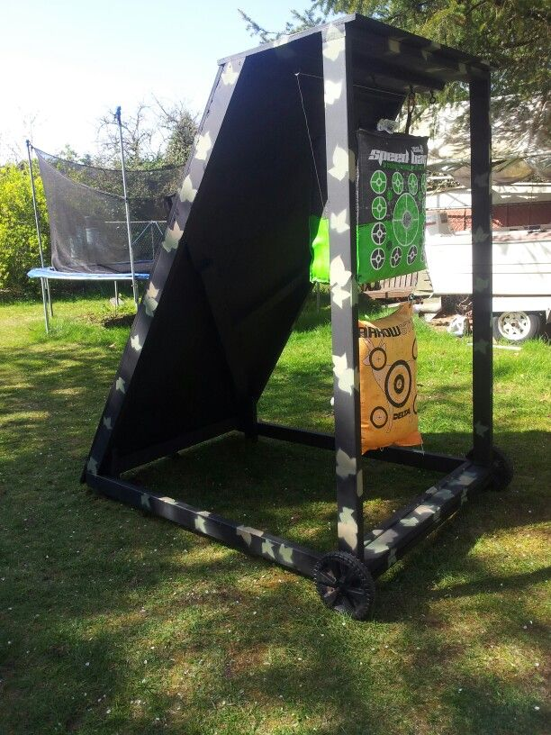 Archery target stand...build stage 2.