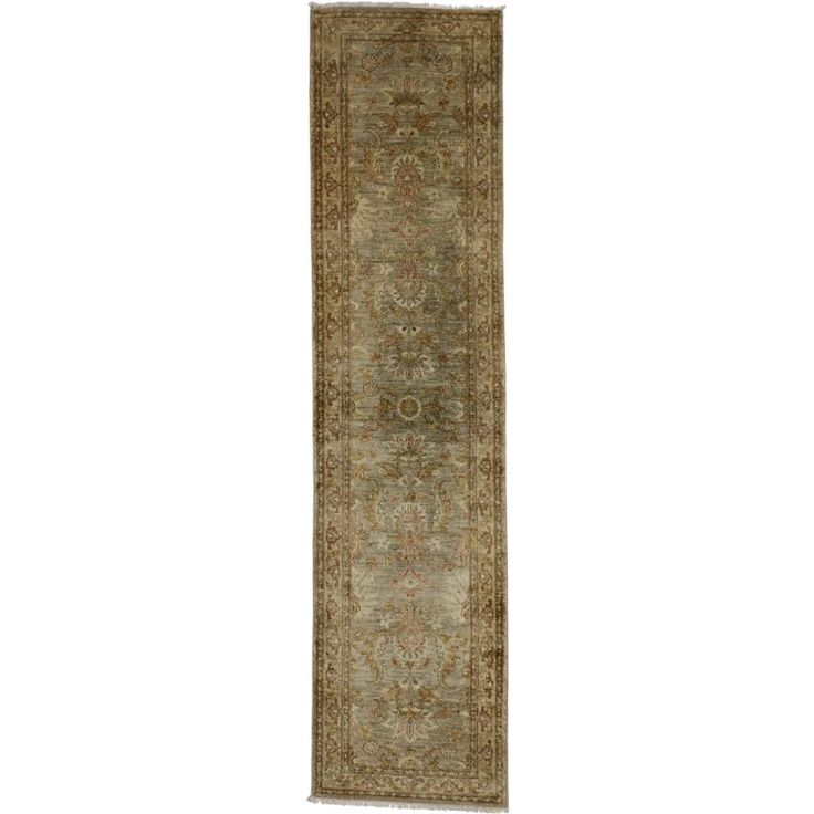 Vintage Indian Runner with Transitional Style | From a unique collection of antique and modern indian rugs at https://www.1stdibs.com/furniture/rugs-carpets/indian-rugs/