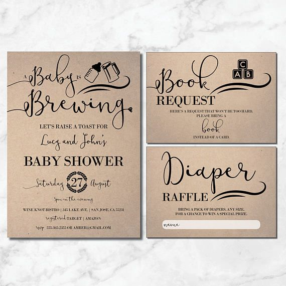 Baby braut Duschen-Einladung   Rustikale Babyparty   Baby-Brauen-Einladung   Handwerk   Kraft   Baby braut Babyparty