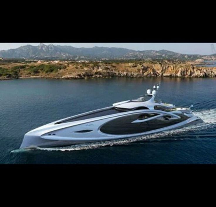 Best Yacht Renderings Images On Pinterest Luxury Motors - Giga yacht takes luxury oil tanker sized extreme