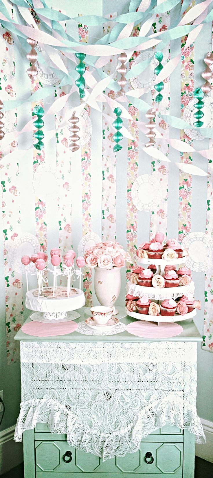 Best images about shabby chic garden party ideas
