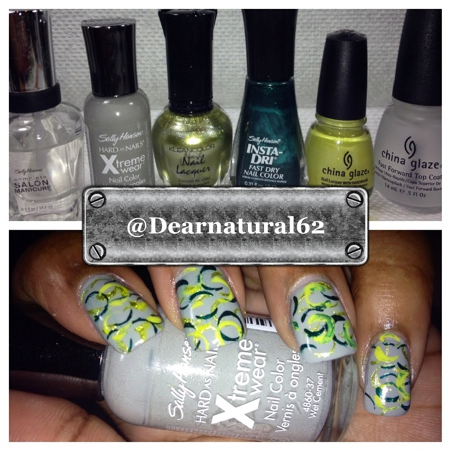 Straw nails tutorial on YouTube under Dearnatural62