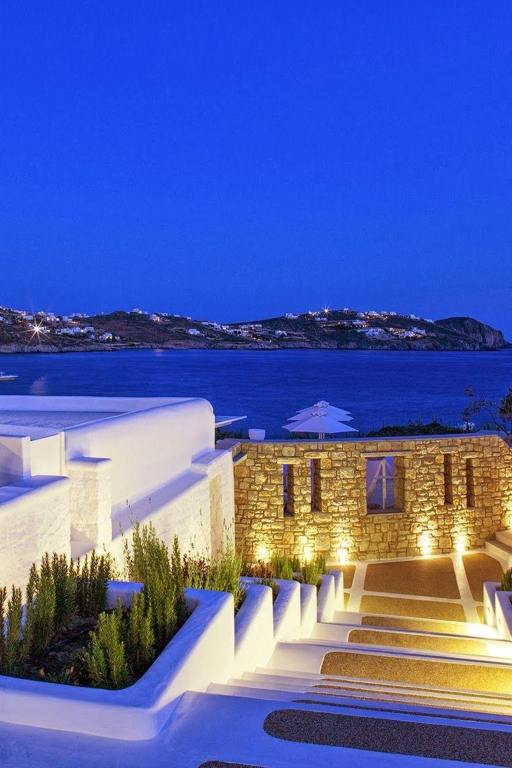 Mykonos, Greece @ Night