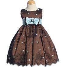Flower Girl Dress: Flowers Girls Dresses, Polka Dots Dresses, Girls Generation, Color, Blue Combos, 100000 Flowers, Flower Girl Dresses, Flower Girls, Blue Polka Dots